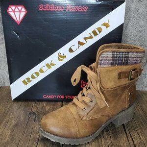 🤶⏬ ZiGi Soho Rock & Candy Sonni Boots Shoes 7.5M